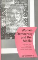 Cover of: Women, democracy, and the media