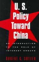 Cover of: U.S. policy toward China