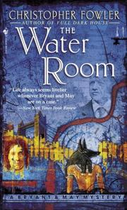 Cover of: The Water Room (Bryant & May Mysteries)