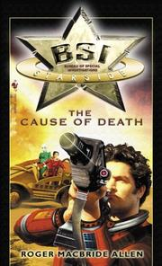 Cover of: The Cause of Death | Roger MacBride Allen