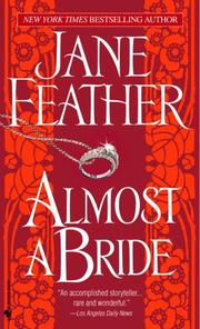 Cover of: Almost a bride
