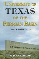Cover of: University of Texas--Permian Basin