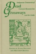 Cover of: Dead giveaways |