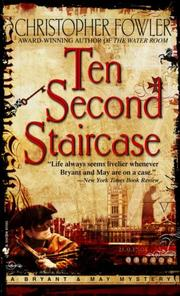 Cover of: Ten Second Staircase (Bryant & May Mysteries)