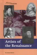 Cover of: Artists of the Renaissance