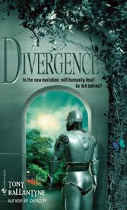 Cover of: Divergence | Tony Ballantyne