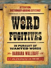 Cover of: Word fugitives