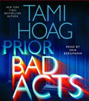 Cover of: Prior Bad Acts (Hoag, Tami)