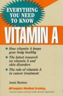 Cover of: Vitamin A