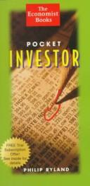 Cover of: Pocket investor | Philip Ryland