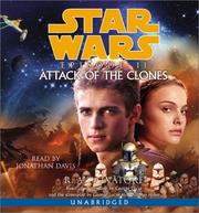Cover of: Star Wars, Episode II - Attack of the Clones | R. A. Salvatore