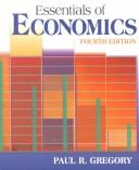 Cover of: Essentials of economics