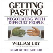 Cover of: Getting Past No | William Ury