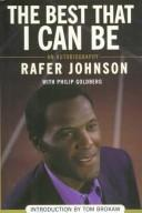 Cover of: best that I can be | Rafer Johnson
