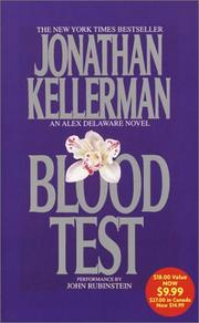 Blood Test (Jonathan Kellerman)