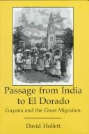 Cover of: Passage from India to El Dorado