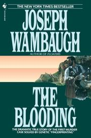 Cover of: Blooding, The