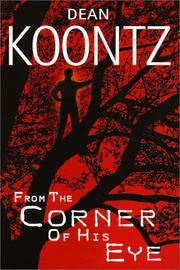 Cover of: From the corner of his eye