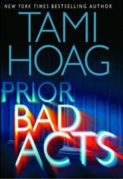 Cover of: Prior bad acts