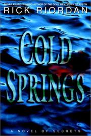 Cover of: Cold Springs