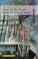 Cover of: The Longman companion to the European Union since 1945