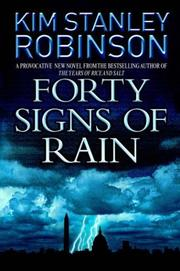 Cover of: Forty signs of rain | Kim Stanley Robinson