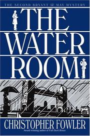 Cover of: water room | Christopher Fowler