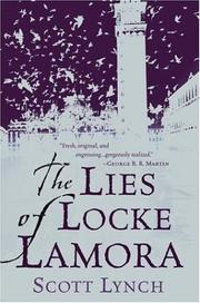 Cover of: The Lies of Locke Lamora | Scott Lynch