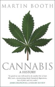 Cover of: Cannabis | Martin Booth