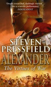 Cover of: Alexander: The Virtues of War
