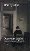 Cover of: Over voorwoorden