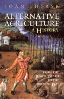 Cover of: Alternative agriculture