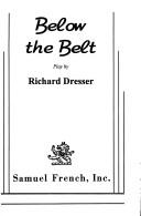 Cover of: Below the belt