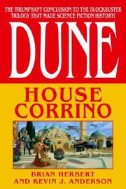 Cover of: House Corrino: Dune
