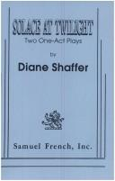 Cover of: Solace at twilight | Diane Shaffer
