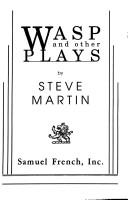 Cover of: Wasp and other plays