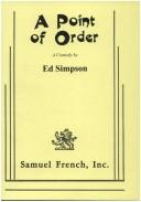 Cover of: A p oint of order: a comedy