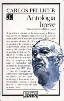 Cover of: Antología breve