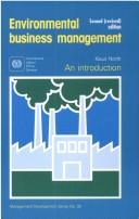 Cover of: Environmental business management | Klaus North