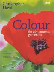 Cover of: Colour for Adventurous Gardeners