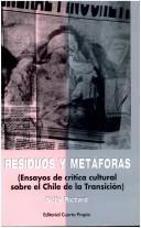 Cover of: Residuos y metáforas | Nelly Richard
