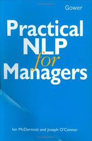Cover of: Practical NLP for managers | Ian McDermott
