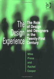 Cover of: The Design Experience | Mike Press