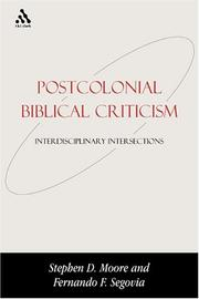 Cover of: Postcolonial Biblical Criticism |
