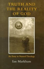 Cover of: Truth & the Reality of God | Ian Markham