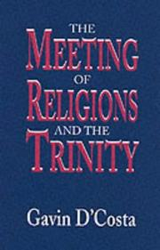 Cover of: Meeting of Religions and the Trinity | Gavin D
