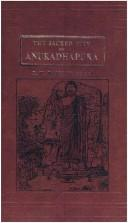 Cover of: The sacred city of Anuradhapura, with forty-six illustrations
