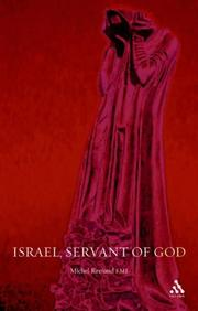 Cover of: Israel, servant of God