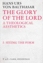 Cover of: Glory of the Lord Vol 1