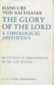 Cover of: Glory of the Lord Vol 3